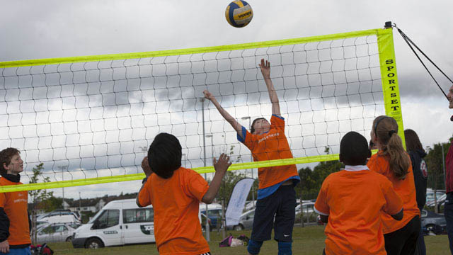 Active Schools volleyball