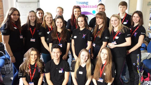 Young Ambassadors conference team