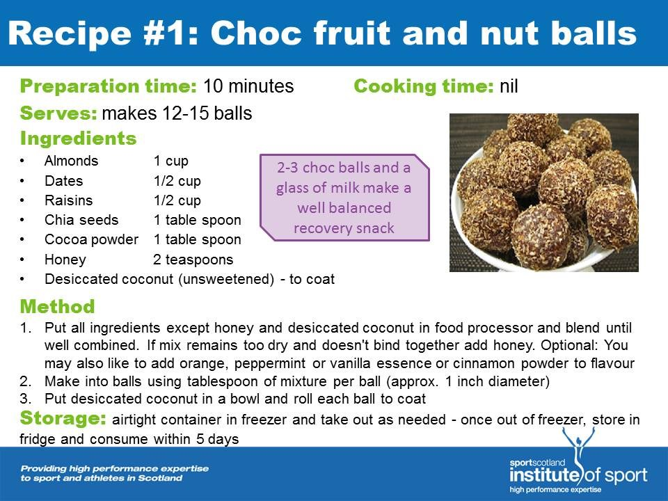 Recipe for success: Choc Fruit and Nut Balls