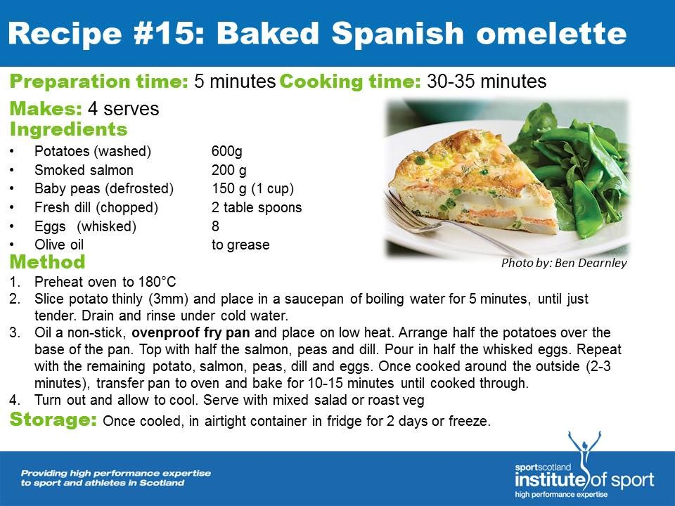 Recipe for success: Baked Spanish Omelette