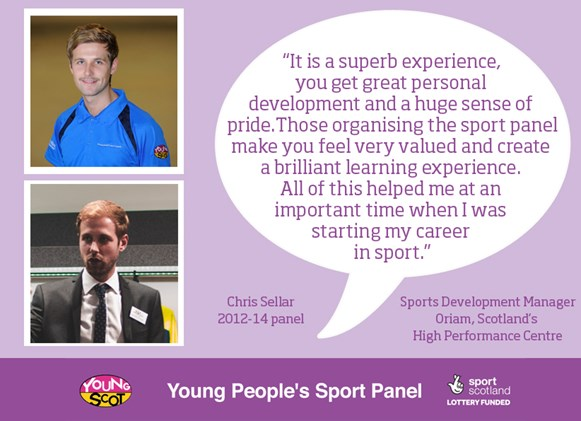 Young People S Sport Panel Where Are They Now Chris Sellar